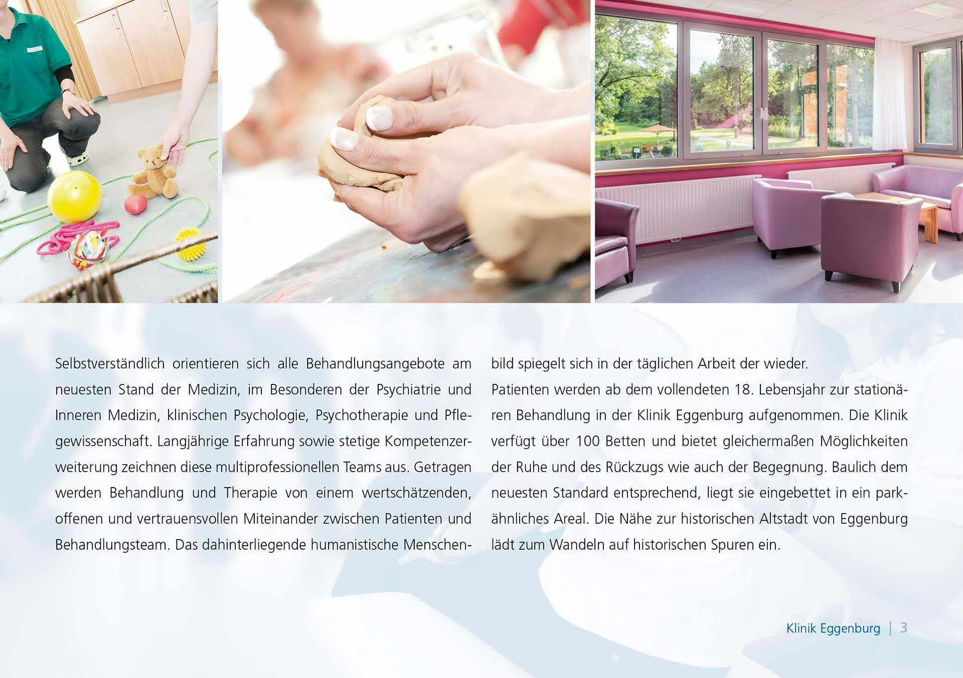 Universitätsklinik Eggenburg – Imagefolder, Fotos: ©Reinhard Podolsky/mediadesign