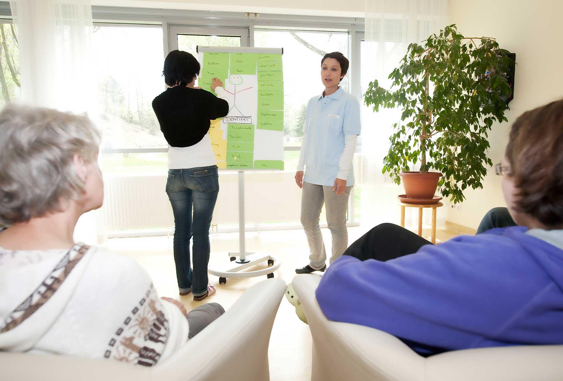 Psychotherapie - © Reinhard Podolsky/mediadesign