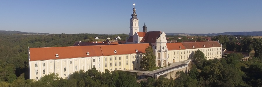 Panoramabild vom Stift Altenburg, © Stift Altenburg